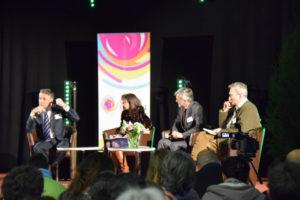 Les responsables du Courant lors des Assises 2014