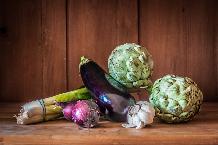 Healthy Organic Vegetables Still life