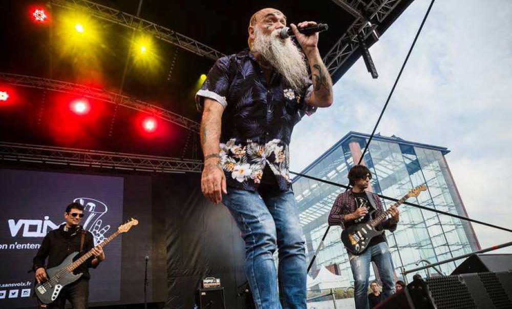 Les Sans Voix – Rock solidaire