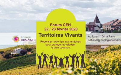 Forum national du Courant pour une écologie humaine