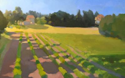 Béatrice Roche Gardies, peintre paysagiste