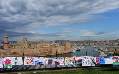 Le dessin dans la rue : la belle histoire d'Arts et développement